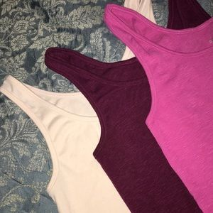 💜💗Great Deal- Set of 3 Camisoles